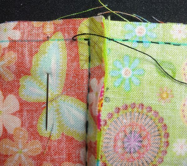 coser patchwork a mano